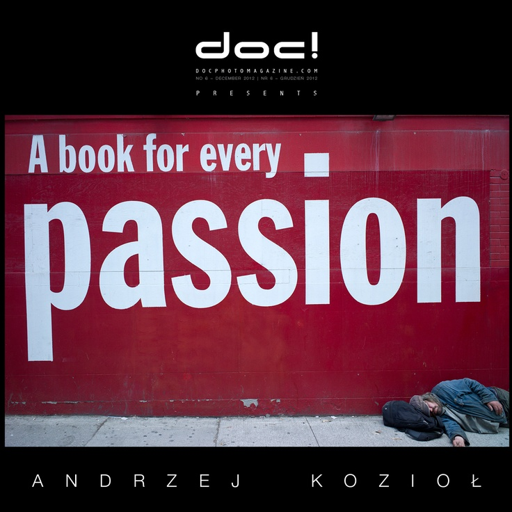 "doc! photo magazine presents: ""Dream"" by Andrzej Koziol, #6, pp. 113-135"