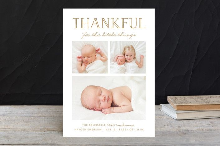 The Little Things Thanksgiving Cards by Susan Asbi... | Minted