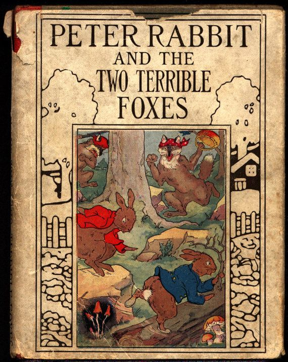 Peter Rabbit and the Two Terrible Foxes Linda by ephemarama