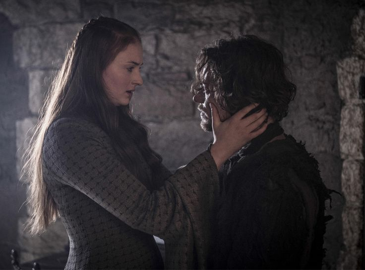 Sansa Stark (Sophie Turner) and Reek/Theon Greyjoy (Alfie Allen) from Holy Mother of Dragons! All the Epic Game of Thrones Season 5 Moments