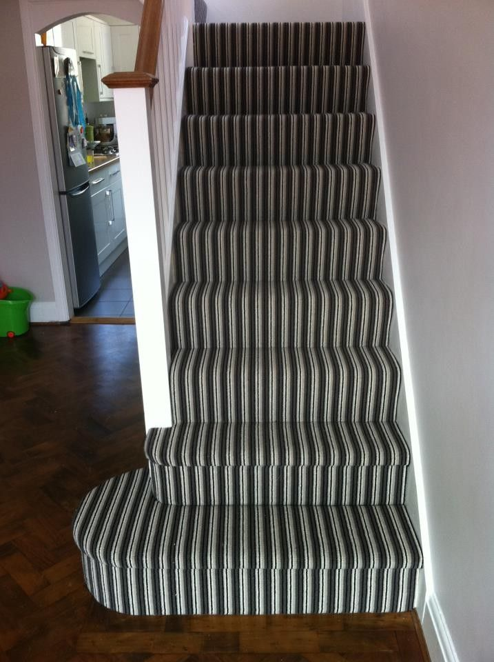 Striped Carpet Stairs And Landing Google Search Carpet