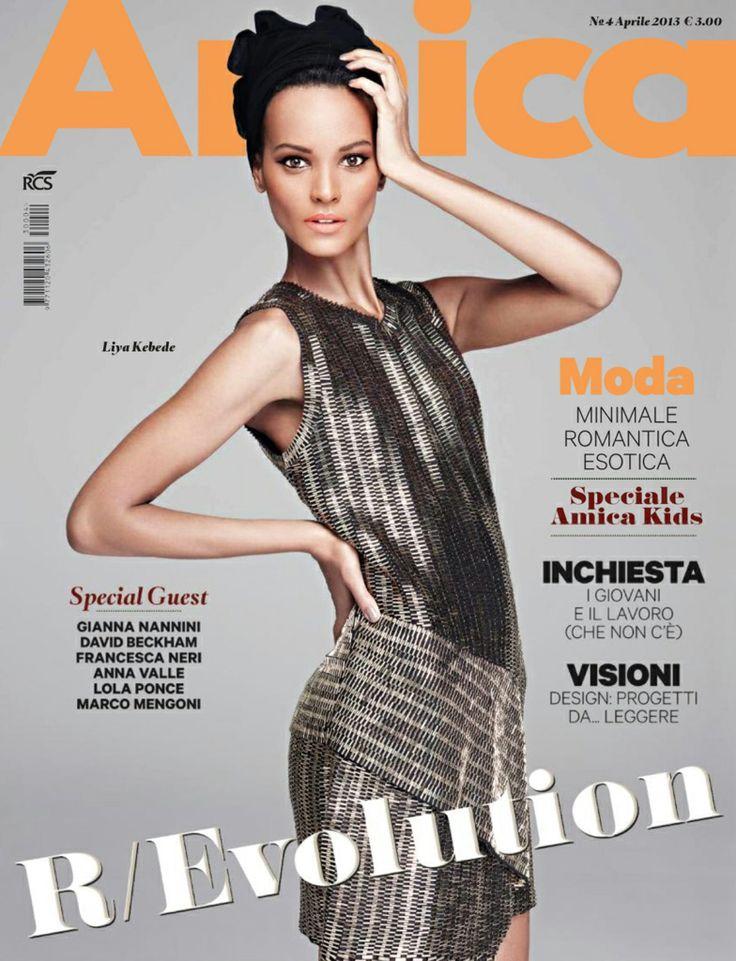 LIYA KEBEDÉ |  AMICA ITALY APRIL, 2013 COVER