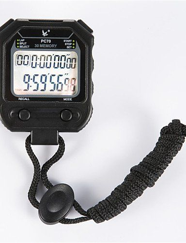 Electronic Stopwatch Timer PC70 Double 30 Memory Stopwatch Stopwatch Timer Movement * You can find more details by visiting the image link.