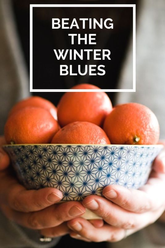 A few ideas to help you beat the winter blues. #spon