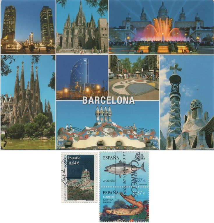 ES-499128 (2018°16) - Arrived: 2018.01.30   ---   Barcelona is the capital and largest city of Catalonia, and the second most populous municipality of Spain.  It is the largest metropolis on the Mediterranean Sea, located on the coast between the mouths of the rivers Llobregat and Besòs, and bounded to the west by the Serra de Collserola mountain range.