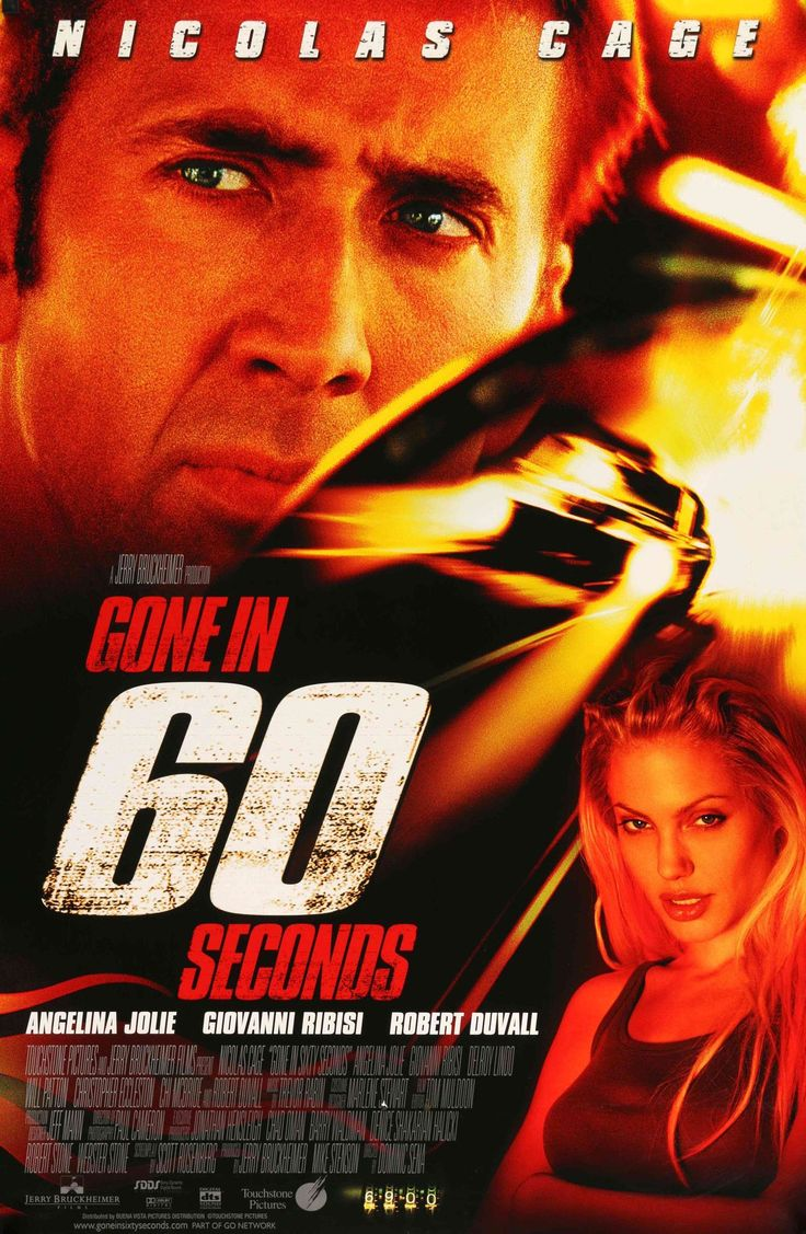 "Gone in 60 Seconds (2000) Vintage DS Movie Poster - 27"" x 40"""