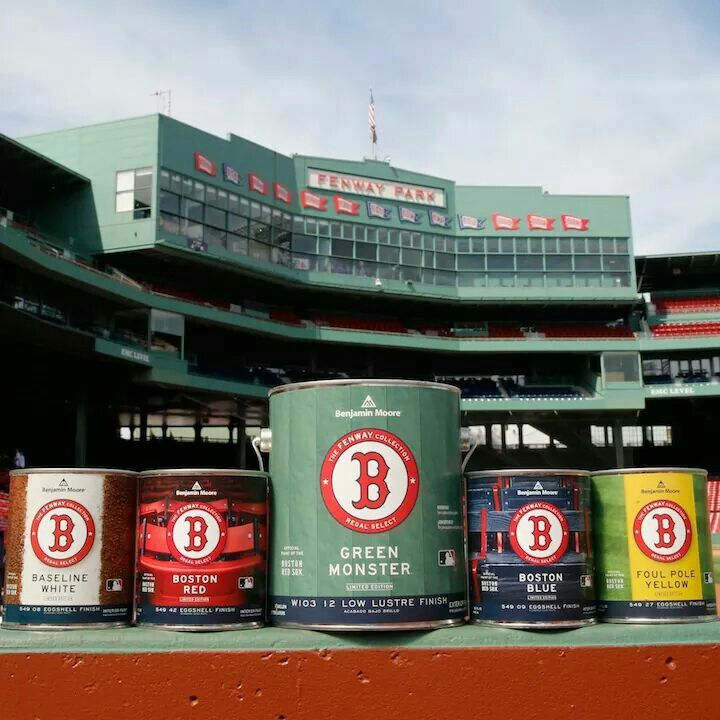 Boston Red Sox Fenway Collection From Now The Colors Used For The Green  Monster Scoreboard Are Available To Everyone! Perfect For Painting A  Baseball Theme ...