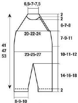 Комбинезон с регланом - Комбинезоны - Детские модели - Модели вязанной одежды - Схемы вязания