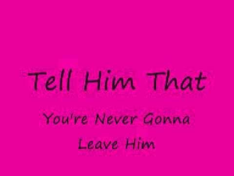 Tell Him By Vonda Shepard With Lyrics Wmv Youtube