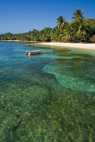 Tropical landscape from Sainte Marie Island, Madagascar