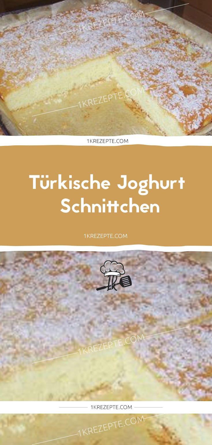 Türkische Joghurt – Schnittchen