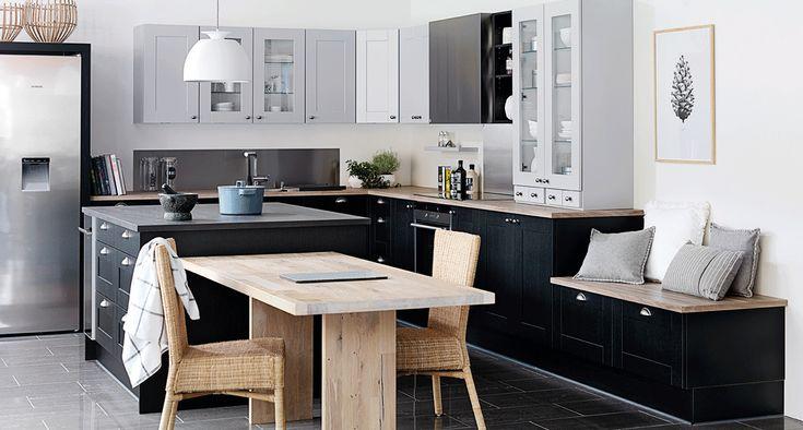 Kjøkken med en naturlig undertone på Askøy | JKE Design