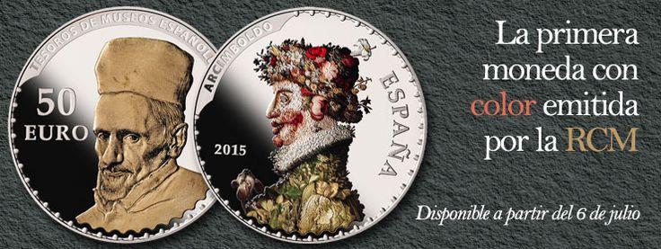 Primera moneda con color emitida por la RCM