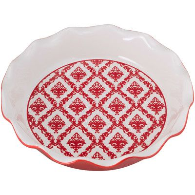 The patterned red.  sc 1 st  Pinterest & 50 best Pretty Pretty Pie Plates images on Pinterest | Pie plate ...