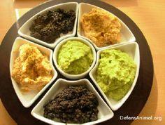 Tabla de patés vegetales | Vegetariana...¿y tú qué comes?