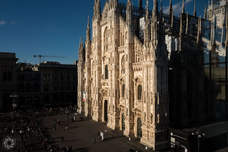 Piazza Duomo, Milan (from the window at Museo del Novecento)