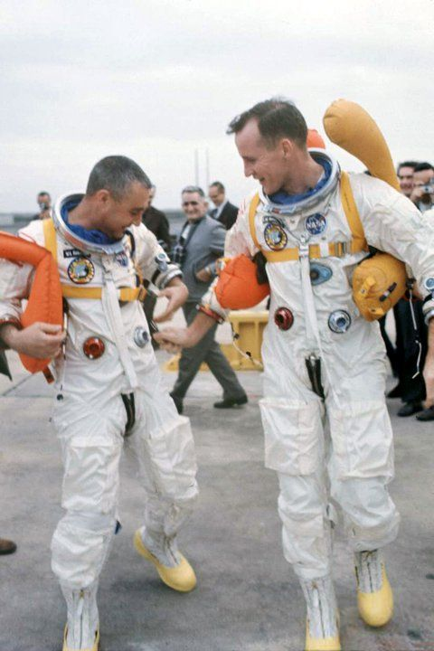 Gus Grissom and Ed White