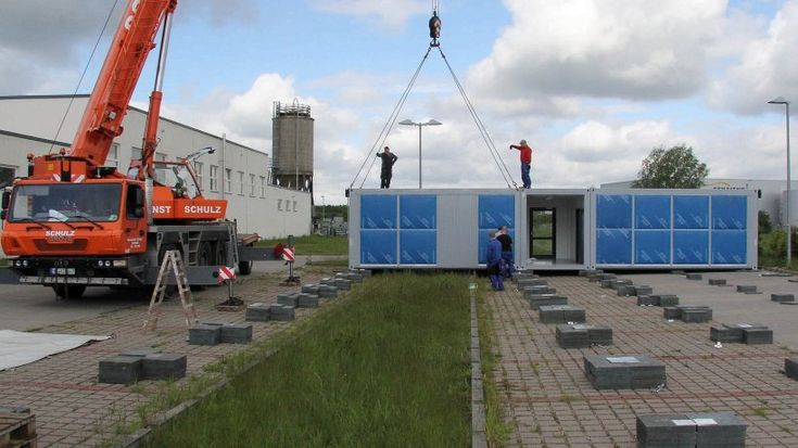 2015 wurden Flüchtlingscontainer an der Mercatorstraße in Geesthacht aufgestellt. Gebraucht wurden sie am Ende nicht alle, bezahlen musste die Stadt für sie trotzdem – nur ein Umstand, für den die Stadt jetzt Ausgleichszahlungen vom Land bekommt.