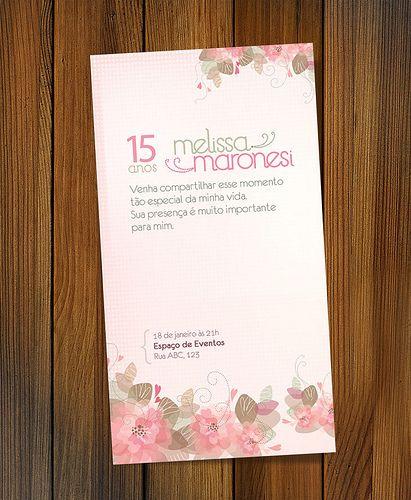 Convite | 15 Anos | Breeze Mendes | Flickr