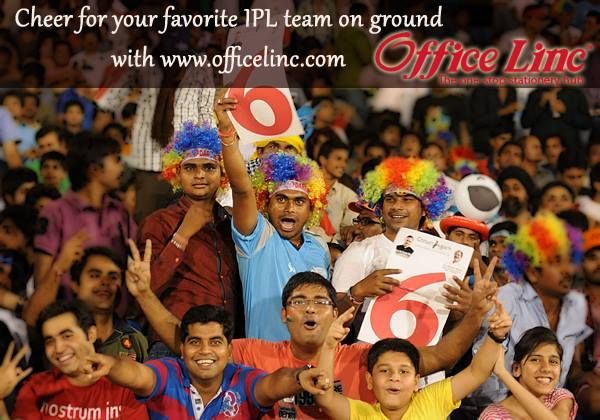 """On the very first day of new India, we give you a chance to win IPL Tickets Visit www.officelinc.com purchase for Rs 250 or more, enter the promo code """"IPL2014"""" You can win yourself a Ticket To IPL in your city and other exciting gifts from #LincPens. Hurry entries open till 20th May, 2014"""