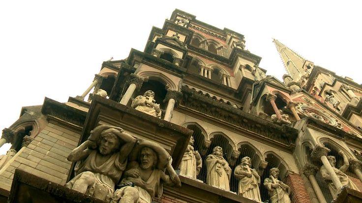 Iglesia de los Capuchinos, Ciudad de Córdoba | Más en www.facebook.com/viajaportupais #VeranoEnArgentina