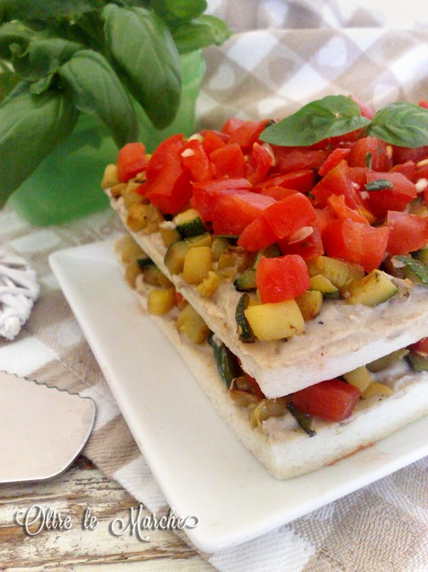 Tiramisù salato di verdure,  antipasti estivi, antipasti freddi, antipasti sfiziosi, antipasto al cucchiaio, come cucinare le melanzane, come cucinare le zucchine,