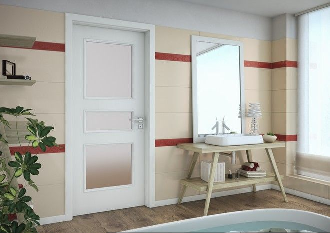 Vnitřní dveře Sapeli - BERGAMO bílé dveře