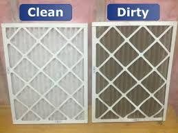 Cleaning your home's air filter is one of the easiest and most important steps you can take to protect your heating and cooling system. Without an air filter, dust can adhere to the working unit. Dirty units can result in anything from inefficiency to fire, so don't overlook this simple maintenance! http://www.allergyfilterdepot.com