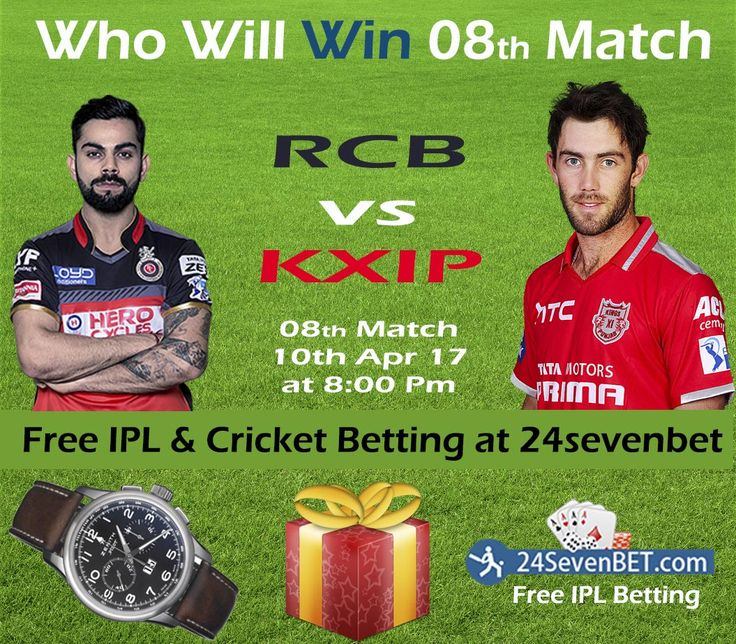 Who Will Win IPL's 8th Match. Predict & Win Prizes Online at 24sevenbet India's Top Online Cricket Betting Site