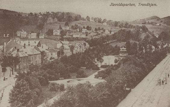 Trondheim, Norway in circa 1904