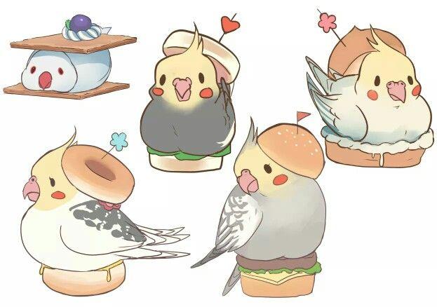 Sandwiches ~ cockatiels