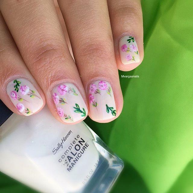 Mejores 90 imágenes de Spring Nails en Pinterest | Uñas para ...