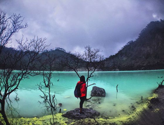 We've all heard of Bali, but just a few hours away from Bali is a less as known city, Bandung, that has everything from Crater Lakes to Caves and Cliffs for that ultimate non-typical holiday  https://livelaughtravel.net/asia/indonesia/bandung/things-to-do-in-bandung/