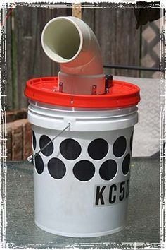 """Off Grid Air Conditioner: DIY Bucket Air Cooler for Camping and Other Uses   There are a lot of great articles and videos on the Internet showing several different styles of """"bucket coolers."""" After reading many articles and watching numerous videos on """"Swamp Coolers"""" or """"Bucket Coolers,"""" I settled on a design and began developing a parts list.   #diy #summer #offgrid"""