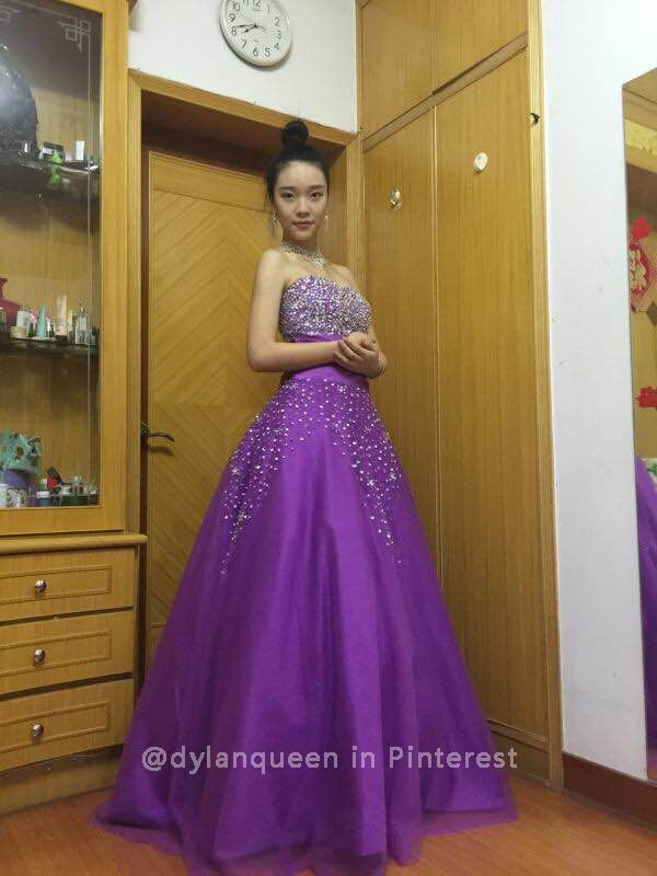 Dylan Queen Ball Gown Prom Dresses
