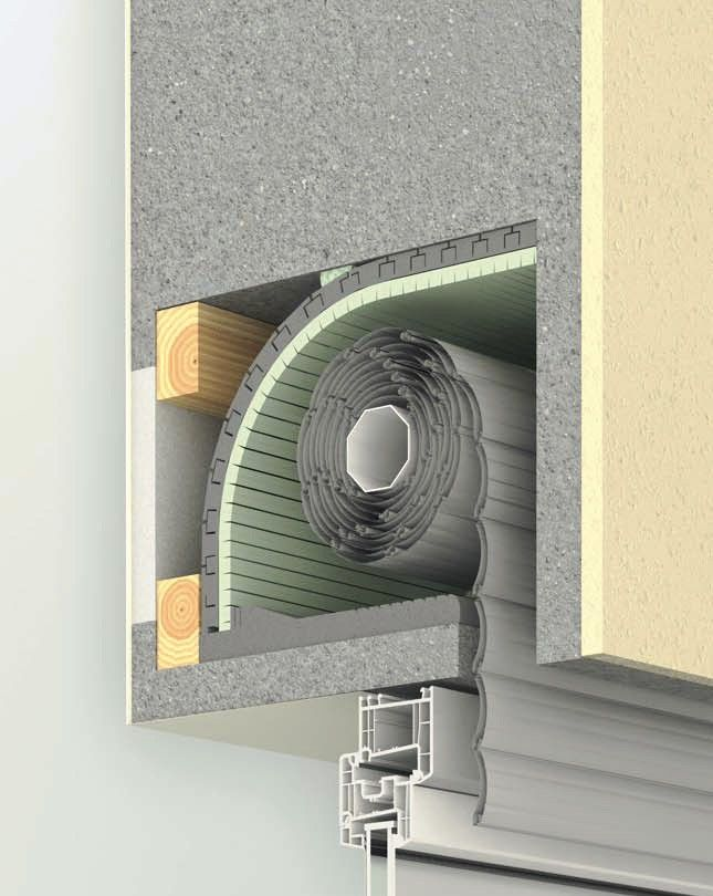 Termoflex Aislamiento térmico de caja de persiana