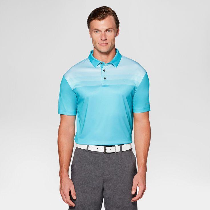 Men's Striped Golf Polo - Jack Nicklaus Bluebird Xxl, Blue