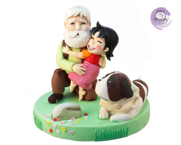 Cake Topper , Heidi