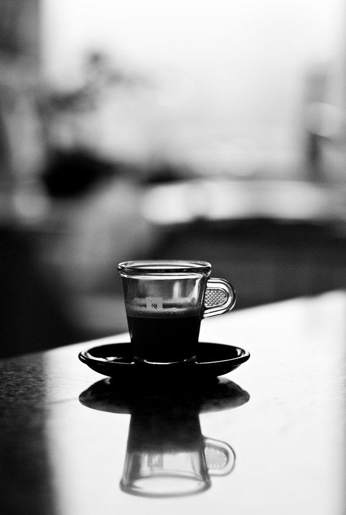 I love coffee / #photography #blackwhite /  Leica M8.2 75mm Summicron-M f/2.0 ASPH / ym32