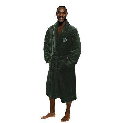 Northwest Co. NFL Jets Men's Bathrobe Size: Large/Extra Large
