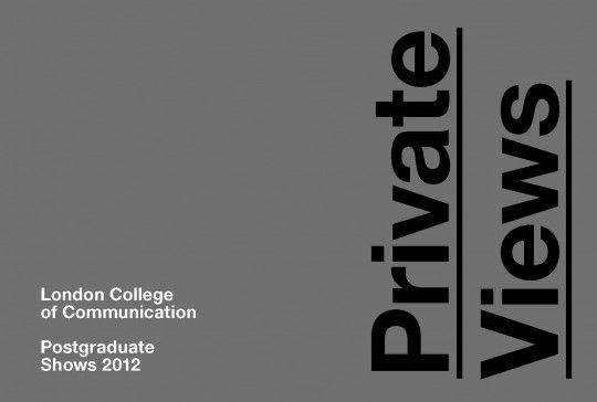 LCC Postgraduate Shows 2012