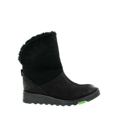Marta Jonsson Black northern light suede boots | Debenhams