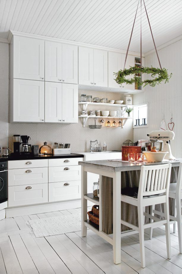 Nordic-Bliss-Scandinavian-Style-country-romantic-white-kitchen