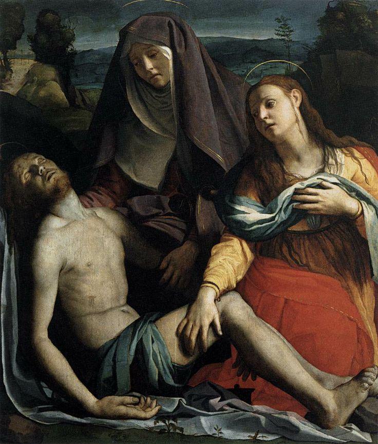 Pietà  - Masters of Art: Agnolo Bronzino (1503 -  1572)