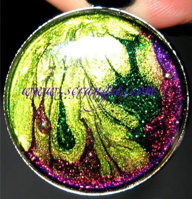 Scrangie: Nail Polish Jewelry by GingerKittyDesigns love it! must try! www.eCrafty.com for glass tiles, bezels, bails, jewelry supplies