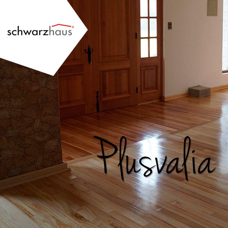 Un piso de madera, por su calidad, entrega plusvalía a tu casa, departamento u oficina.