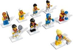8909-17: Team GB Minifigures - Complete Set