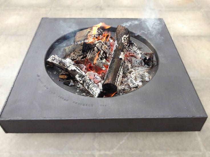 Handmade Personalised Aura Fire Pit