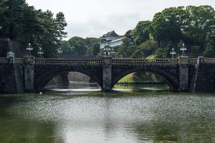 The Tokyo Imperial Palace!