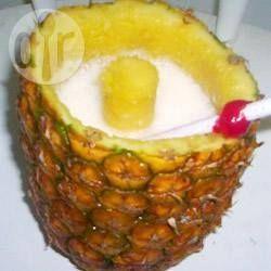Фото рецепта: Безалкогольная Пина Колада